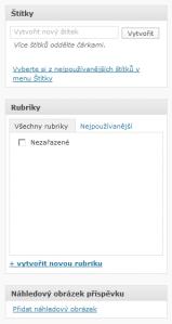 WordPress 2.9 - Náhledový obrázek (1)