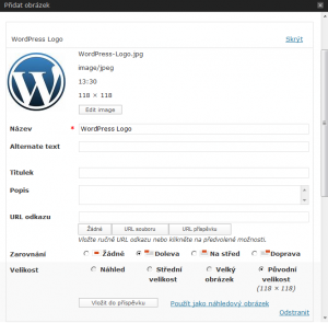 WordPress 2.9 - Náhledový obrázek (2)