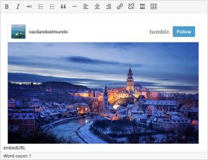 WordPress 4.2: Sdílení obsahu z Tumblr
