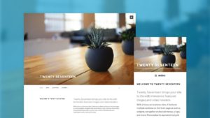 WordPress 4.7: Twenty Seventeen