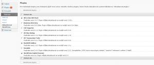 WordPress 2.9: Hromadná aktualizace pluginů (1)