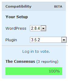 WordPress 2.9: Kompatibilita pluginů