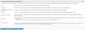 WP-Table Reloaded 1.5 - Možnosti nastavení Javascriptové knihovny DataTables