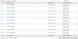 WP-Table Reloaded 1.5 - Použití knihovny DataTables v administraci