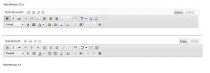 Nové ikonky pro vizuální editor TinyMCE (WordPress 3.2)