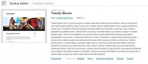 Twenty Eleven - Podrobnosti v češtině