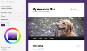 WordPress 3.4 - Aktuální náhled