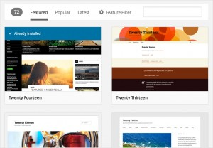WordPress 3.9 - Instalace šablon