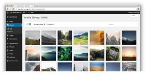 WordPress 4.0: Knihovna médií