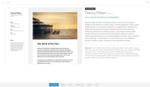 Twenty Fifteen: Základní informace