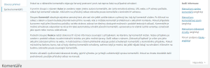 WordPress 4.0.1: Nápověda pro komentáře (překlad)