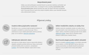 Novinky ve WordPressu 4.1 (čeština)