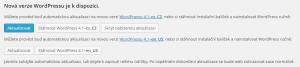 WordPress 4.1: Aktualizace české verze