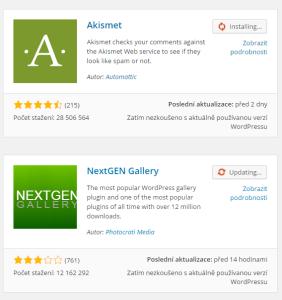 WordPress 4.2: Hromadná instalace pluginů