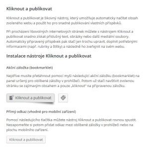 Čeština pro WordPress 4.2.2: Kliknout a publikovat