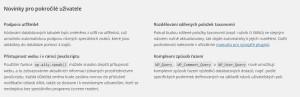 Čeština pro WordPress 4.2.2: Novinky pro pokročilé uživatele