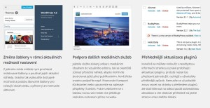 Čeština pro WordPress 4.2.2: Uživatelské novinky