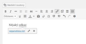 WordPress 4.3: Odkazy