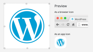 WordPress 4.3: Ikona webu (favicon)