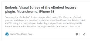 WordPress 4.4: Graficky přehledný odkaz