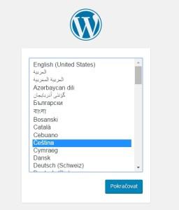 Čeština pro WordPress 4.4.2