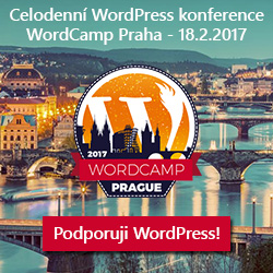 Podporuji WordPress (WordCamp 2017)
