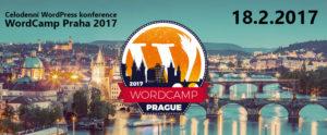 Banner pro WordCamp 2017 v Praze